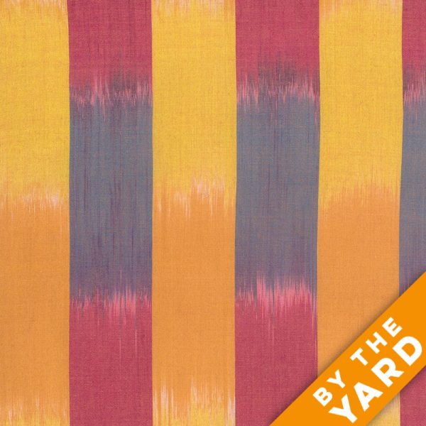 Artisan by Kaffe Fassett - Woven - Ikat Stripes - Yellow - By the Yard