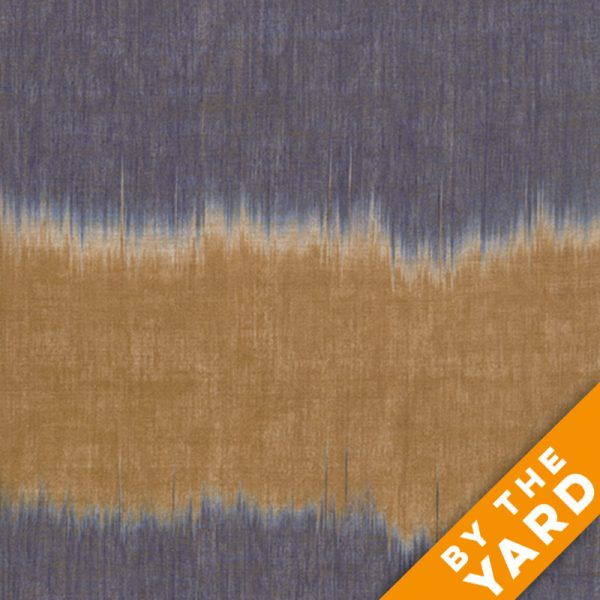 Artisan by Kaffe Fassett - Woven - Blush Ikat - Blue - By the Yard