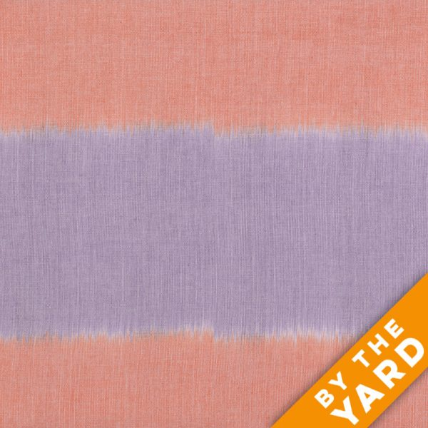 Artisan by Kaffe Fassett - Woven - Blush Ikat - Orange - By the Yard