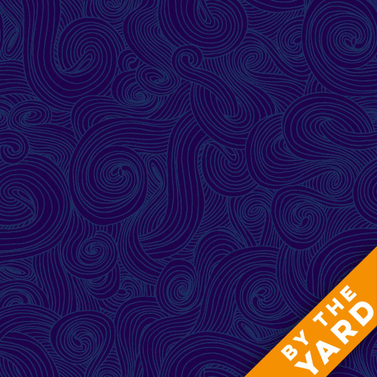 Just Color by Studio E - Navy - By the Yard