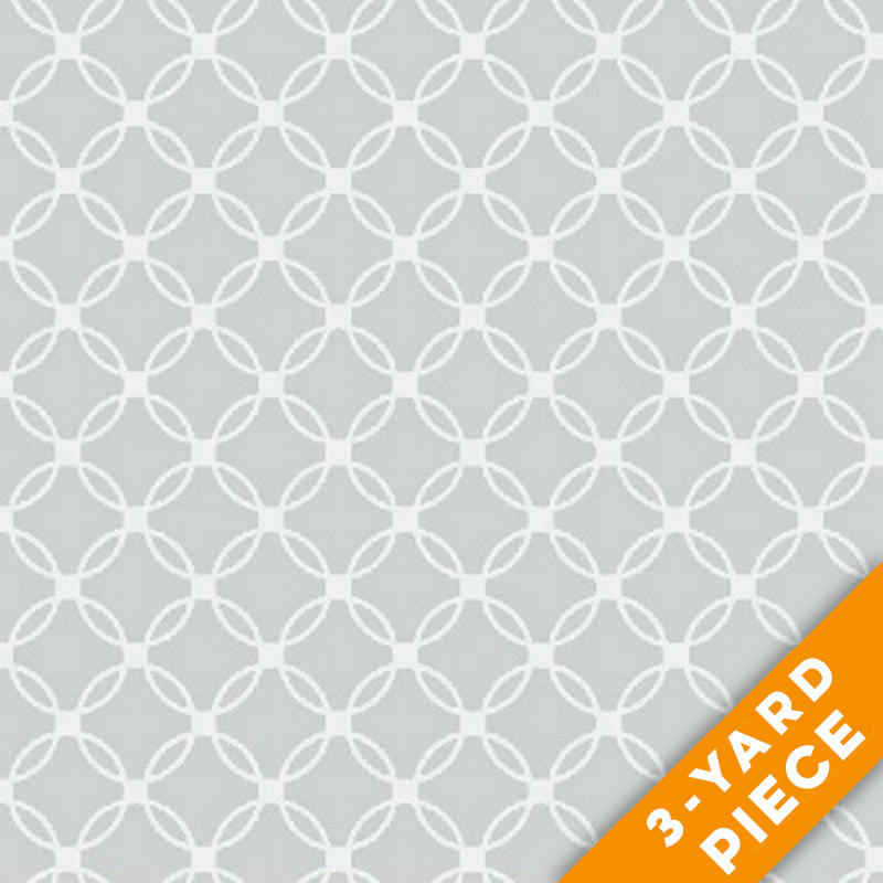"Windham 108"" Quilt Back - Lattice 42464-2-3YD - Grey PRECUT 3-YARD PIECE"