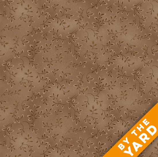 Henry Glass Folio - Cocoa 7755-30 - Fabric By the Yard