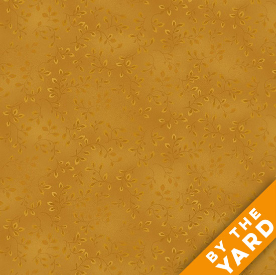 Henry Glass Folio - Harvest Gold 7755-33 - Fabric By the Yard