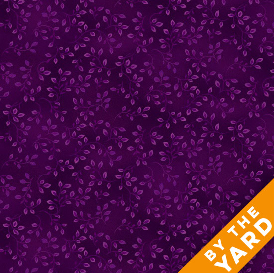 Henry Glass Folio - Plum 7755-55 - Fabric By the Yard