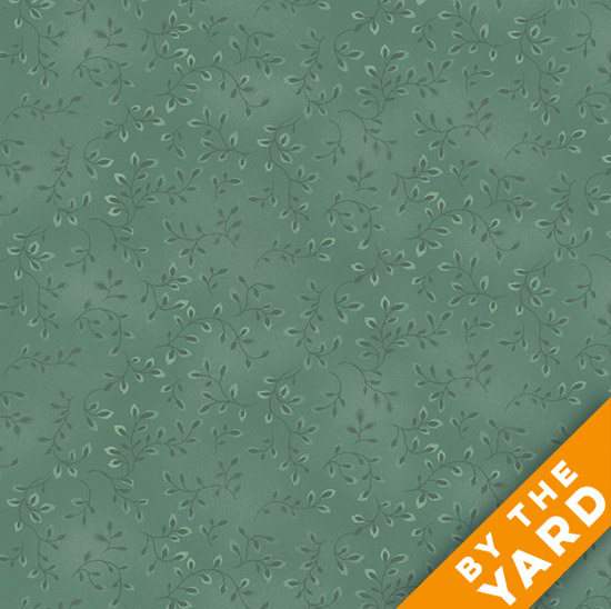 Henry Glass Folio - Dusty Sage 7755-63 - Fabric By the Yard