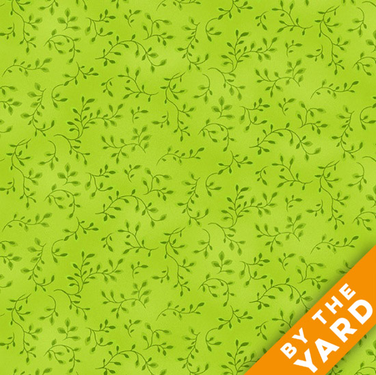 Henry Glass Folio - Lime Green 7755-69 - Fabric By the Yard