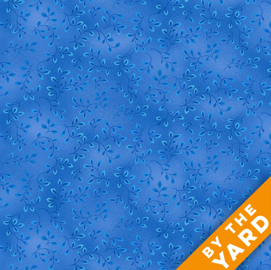 Henry Glass Folio - Summer Blue 7755-75 - Fabric By the Yard