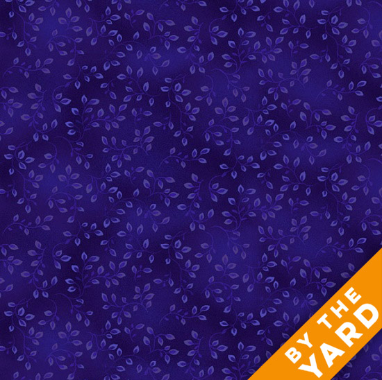 Henry Glass Folio - Midnight Blue 7755-77 - Fabric By the Yard