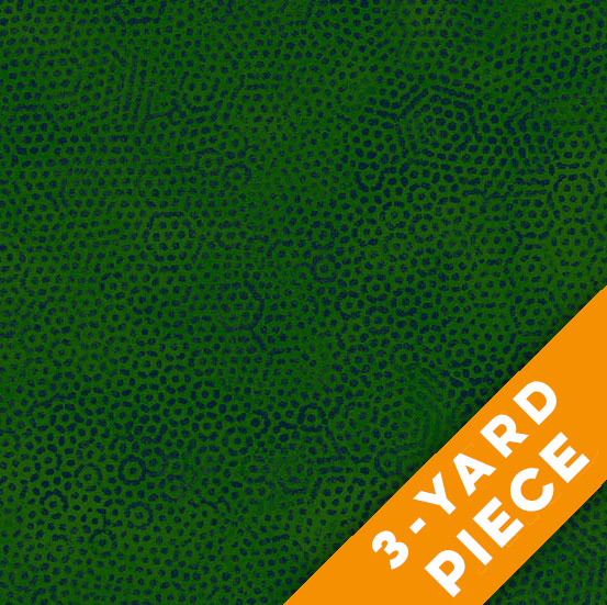 "Dimples 108"" Quilt Backs 8408-H - Hunter Green PRECUT 3-YARD PIECE"