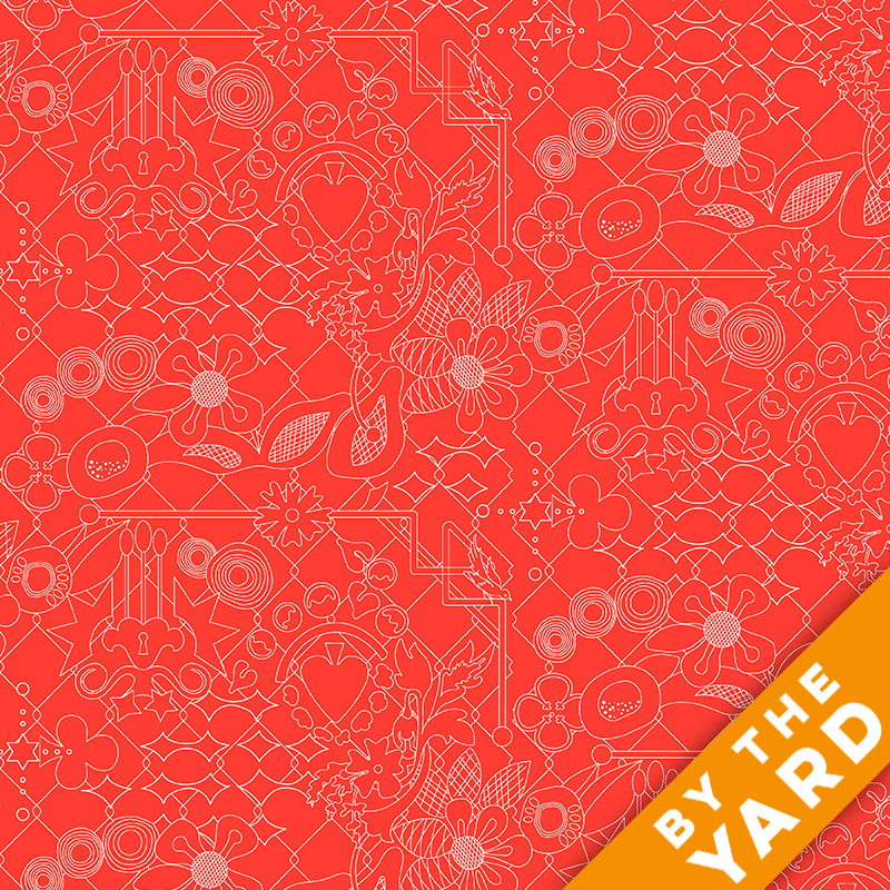 Sun Print by Alison Glass - 8482-O - Fabric By the Yard
