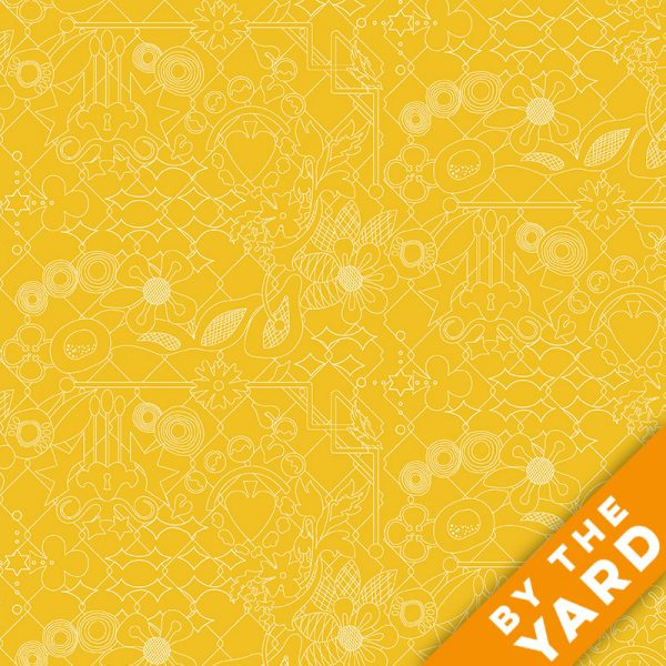 Sun Print by Alison Glass - 8482-Y - Fabric By the Yard