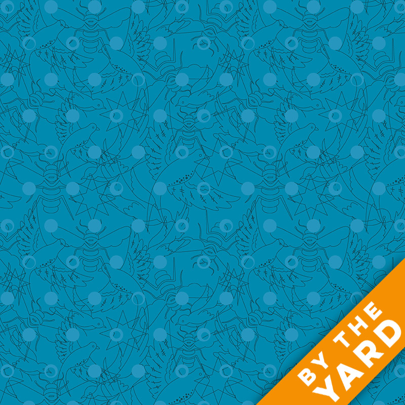 Sun Print by Alison Glass - 8484-T - Fabric By the Yard