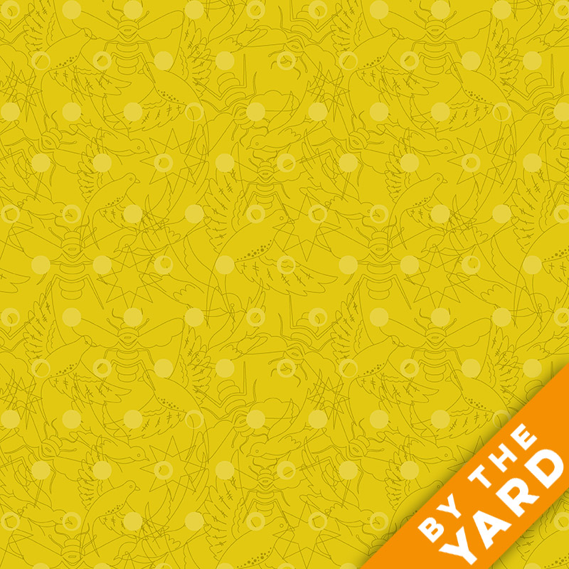 Sun Print by Alison Glass - 8484-Y - Fabric By the Yard