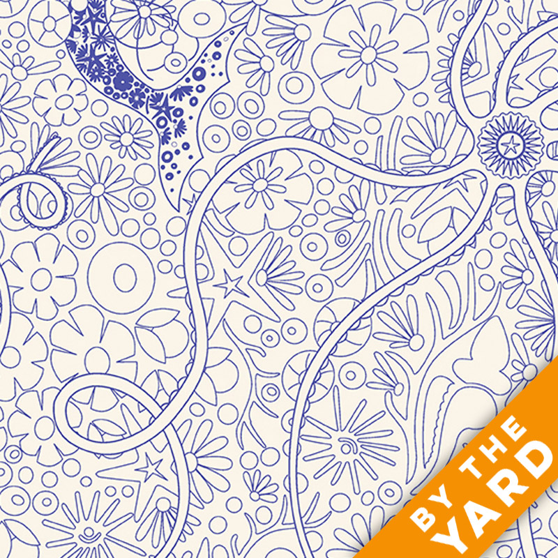Diving Board by Alison Glass - 8634-B1 - Fabric By the Yard