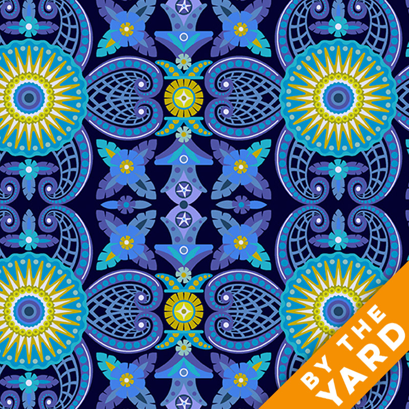 Diving Board by Alison Glass - 8635-B - Fabric By the Yard