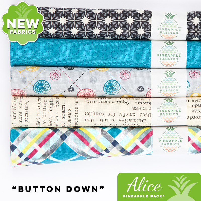 Button Down - Alice Pineapple Pack