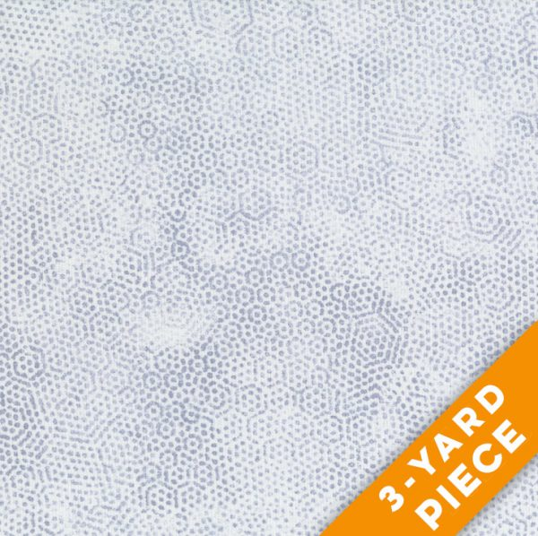 "Dimples 108"" Quilt Backs 8408-C - Grey PRECUT 3-YARD PIECE"