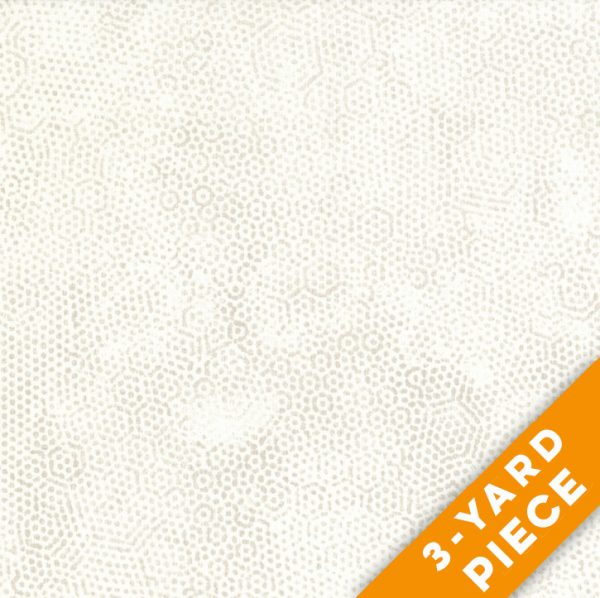 "Dimples 108"" Quilt Backs 8408-L - Ecru PRECUT 3-YARD PIECE"