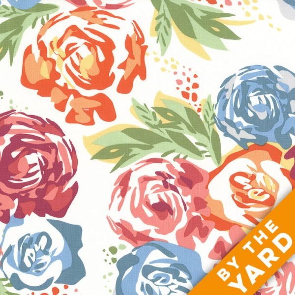 Andover - An American in Paris - 8266 - White - Fabric By the Yard