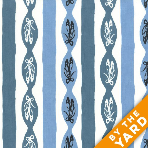 Andover - An American in Paris - 8269 - Blue - Fabric By the Yard