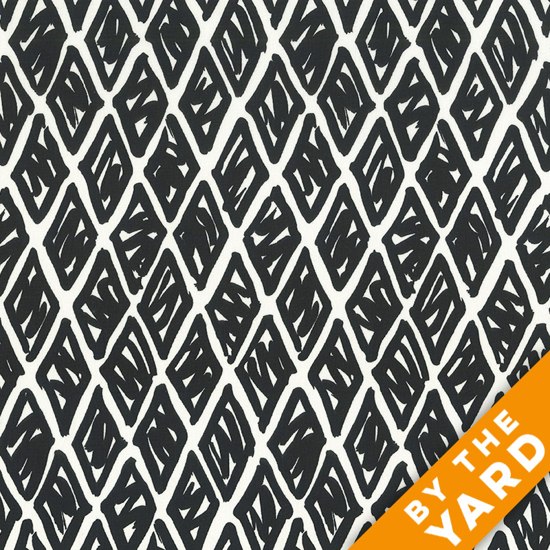 Andover - An American in Paris - 8270 - Black/White - Fabric By the Yard