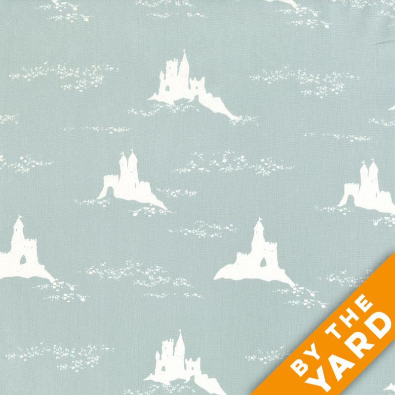 Andover - Jane Dixon - 7533-Teal - Fabric By the Yard
