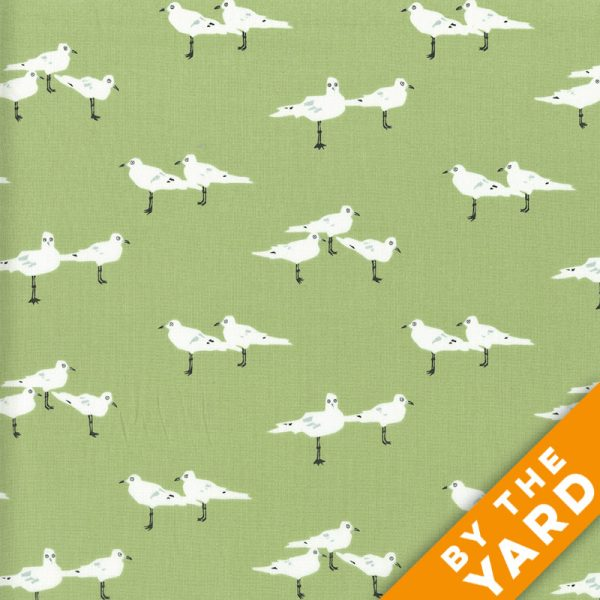 Andover - Jane Dixon - 7554 - Green - Fabric By the Yard
