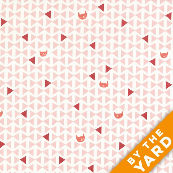 Andover - Lizzy House - Cat Nap - 7342-LE - Fabric By the Yard