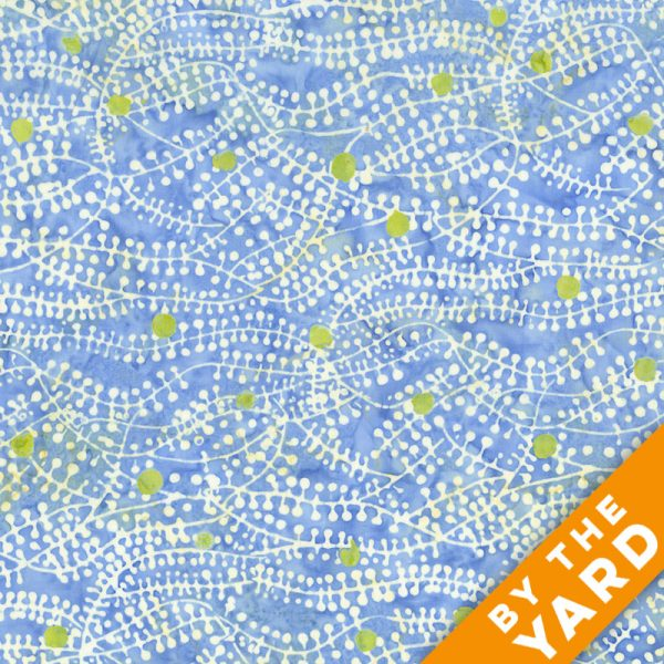 Andover - Lonni Rossi - Batiks - 7411-BG - Fabric by the Yard