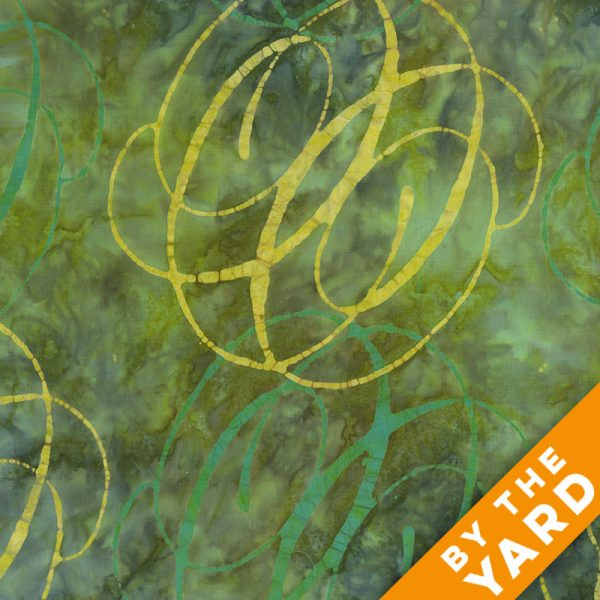 Andover - Lonni Rossi - Batiks - 7400-G - Fabric by the Yard