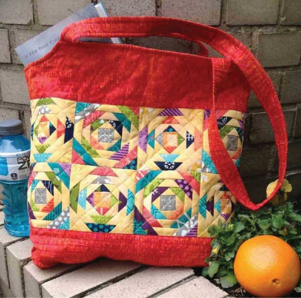 CLPJAW052 - Pineapple Sizzle Tote Pattern by Cut Loose Press