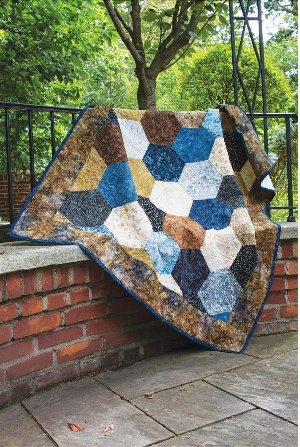 CLPPBE001 - Cobble Stones Pattern by Cut Loose Press