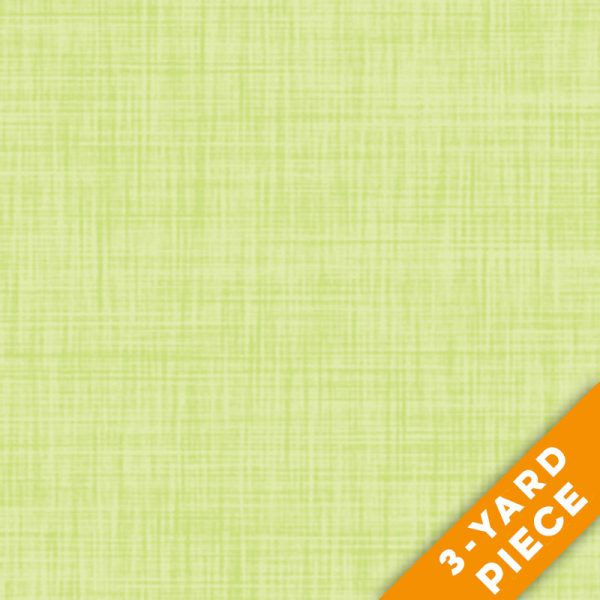 "P&B Textiles 108"" Color Weave Quilt Backs - 203GL - Yellow Green PRECUT 3-YARD PIECE"