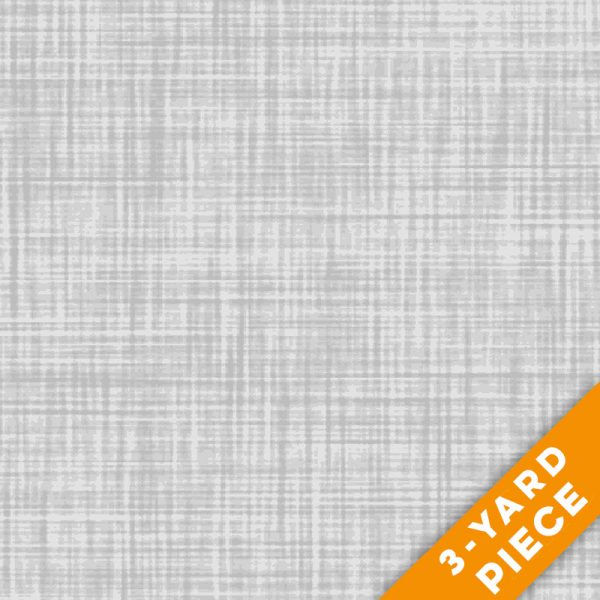 "P&B Textiles 108"" Color Weave Quilt Backs - 203LS - Light Grey PRECUT 3-YARD PIECE"