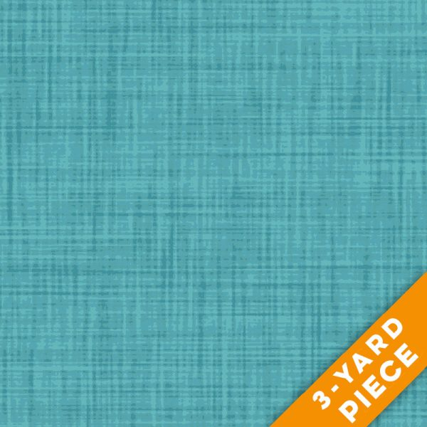 "P&B Textiles 108"" Color Weave Quilt Backs - 203LT - Light Teal PRECUT 3-YARD PIECE"
