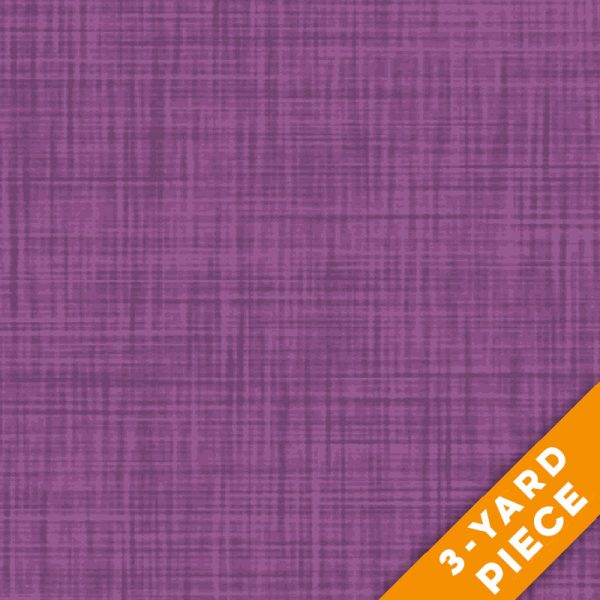 "P&B Textiles 108"" Color Weave Quilt Backs - 203RV - Red Violet PRECUT 3-YARD PIECE"