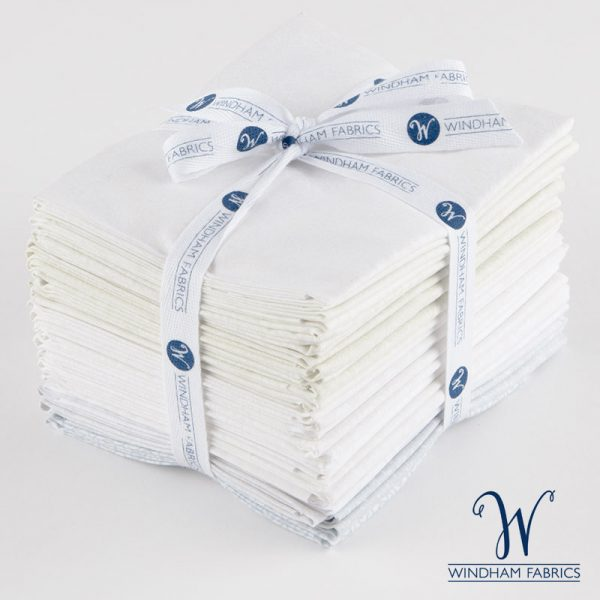 Ivory Basics - Fat Quarter Bundle - Windham Fabrics - 20 pieces