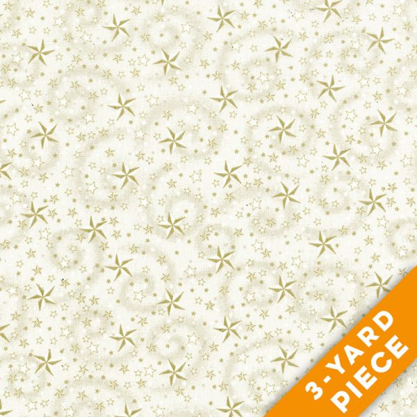 "American Dreams 108"" Quilt Backs 9813-44 - Cream PRECUT 3-YARD PIECE"