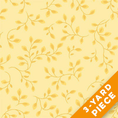 "Henry Glass 108"" Folio Quilt Backs 7882-03 - Yellow PRECUT 3-YARD PIECE"