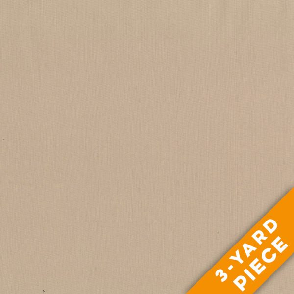 "Henry Glass 108"" Quilt Back Solids 900-444 - Tan PRECUT 3-YARD PIECE"