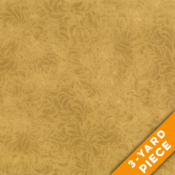 "Bella Suede 110"" Quilt Backs 460LX - Gold PRECUT 3-YARD PIECE"