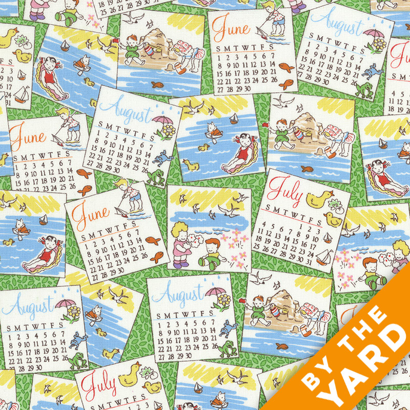 Windham - Storybook Vacation - 41076 - Fabric by the Yard