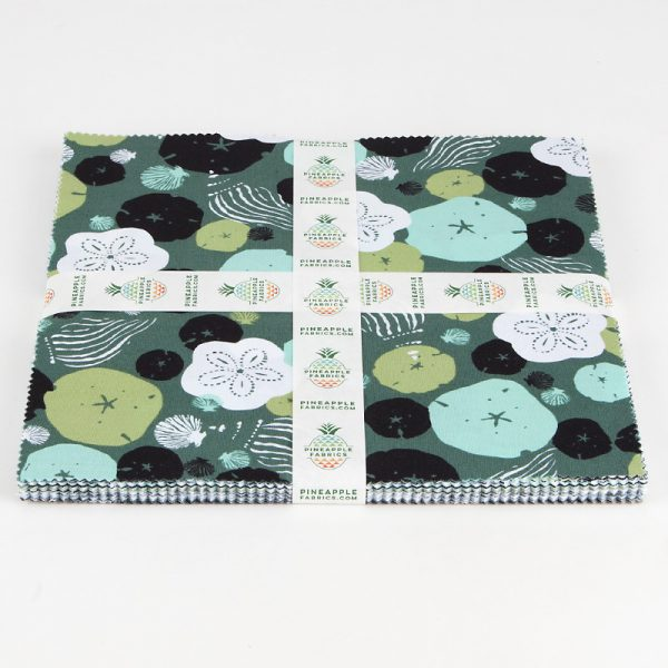 """Low Tide by Jane Dixon for Andover Fabrics - 10"""" Squares"""