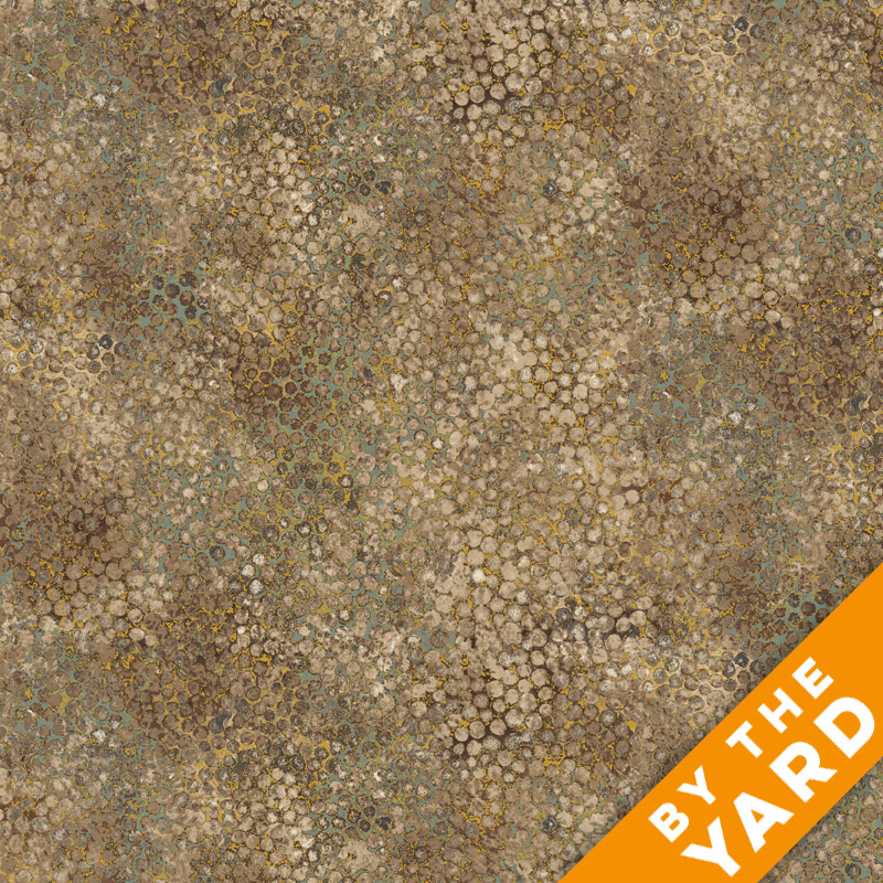 Artisan Spirit Shimmer by Northcott - Earth - 20257M-34 - Fabric by the Yard