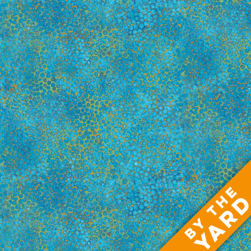 Artisan Spirit Shimmer by Northcott - Blue Lagoon - 20257M-42 - Fabric by the Yard