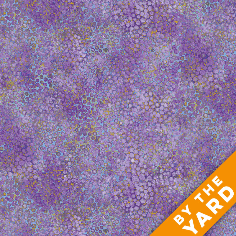 Artisan Spirit Shimmer by Northcott - Pansy - 20257M-83 - Fabric by the Yard