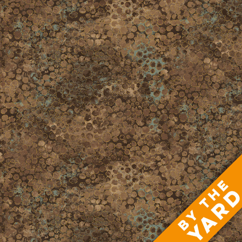 Artisan Spirit Shimmer by Northcott - Earth - 20258M-35 - Fabric by the Yard
