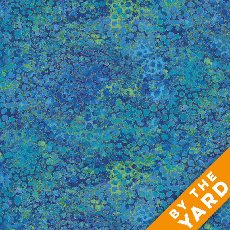 Artisan Spirit Shimmer by Northcott - Blue Lagoon - 20258M-42 - Fabric by the Yard