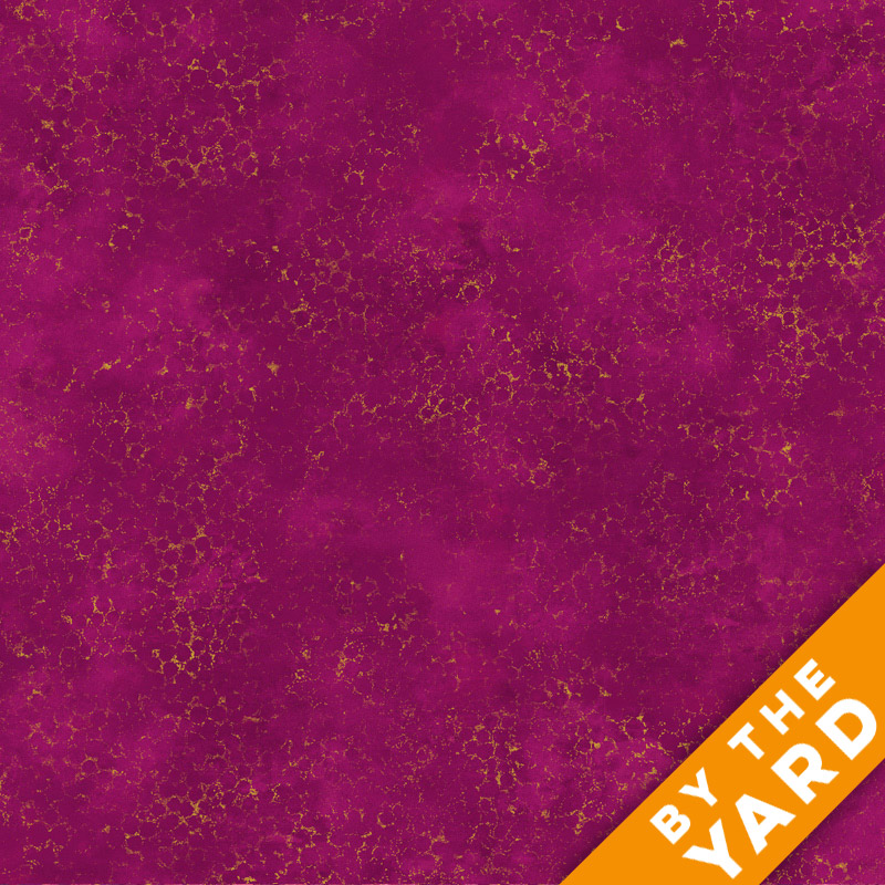 Artisan Spirit Shimmer by Northcott - Hibiscus - 20259M-28 - Fabric by the Yard