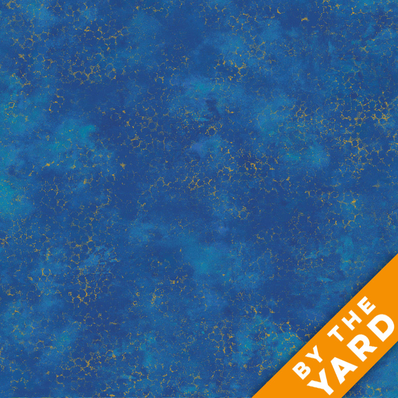 Artisan Spirit Shimmer by Northcott - Blue Lagoon - 20259M-45 - Fabric by the Yard